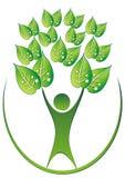 δέντρο ατόμων απεικόνιση αποθεμάτων