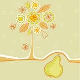 δέντρο αχλαδιών Στοκ Εικόνα