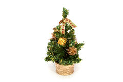 δέντρο γουνών Χριστουγένν& Στοκ φωτογραφία με δικαίωμα ελεύθερης χρήσης