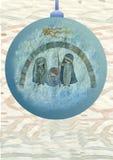δέντρο διακοσμήσεων σφα&io ελεύθερη απεικόνιση δικαιώματος