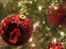 δέντρο διακοσμήσεων Χριστουγέννων στοκ εικόνες