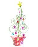δέντρο δύο κουδουνισμάτων στοκ εικόνα με δικαίωμα ελεύθερης χρήσης