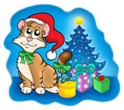 δέντρο δώρων Χριστουγέννων Στοκ Φωτογραφίες