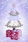 δέντρο δώρων Χριστουγέννω&nu στοκ φωτογραφίες με δικαίωμα ελεύθερης χρήσης