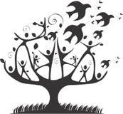 Δέντρο ειρήνης Στοκ εικόνα με δικαίωμα ελεύθερης χρήσης
