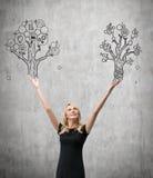 Δέντρο εκμετάλλευσης επιχειρηματιών Στοκ Φωτογραφίες