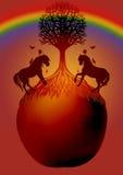 δέντρο ζωής διανυσματική απεικόνιση