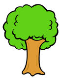 δέντρο κινούμενων σχεδίων Στοκ εικόνες με δικαίωμα ελεύθερης χρήσης