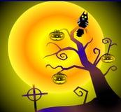 δέντρο κολοκύθας Στοκ φωτογραφίες με δικαίωμα ελεύθερης χρήσης
