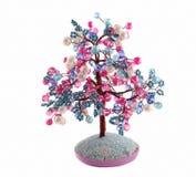 δέντρο κοσμήματος ευτυ&chi στοκ εικόνα