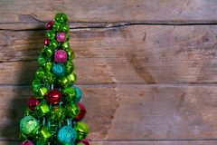 Δέντρο κουδουνιών Χριστουγέννων Στοκ Φωτογραφία