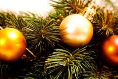 δέντρο λεπτομέρειας Χριστουγέννων στοκ εικόνα με δικαίωμα ελεύθερης χρήσης