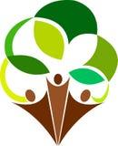 δέντρο λογότυπων ζευγών Στοκ Φωτογραφία