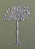 δέντρο μήλων applique Στοκ Εικόνες