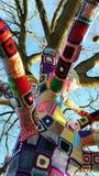 Δέντρο με έναν άλτη επάνω Στοκ Εικόνες