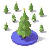 Δέντρο με το άριστο αστεριών Στοκ Εικόνα