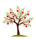 δέντρο μηλιάς Στοκ Εικόνα