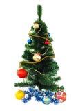 Δέντρο νέος-έτους Στοκ Εικόνες
