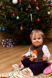δέντρο νηπίων Χριστουγέννω&nu Στοκ Φωτογραφία