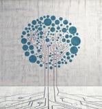Δέντρο πινάκων κυκλωμάτων στοκ εικόνες