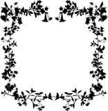 δέντρο πλαισίων λουλουδιών κερασιών Στοκ φωτογραφίες με δικαίωμα ελεύθερης χρήσης