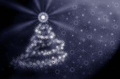 δέντρο σεληνόφωτου Χριστ απεικόνιση αποθεμάτων