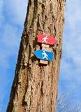 δέντρο σημαδιών Στοκ φωτογραφίες με δικαίωμα ελεύθερης χρήσης