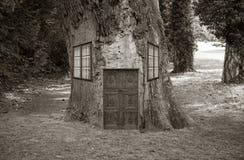 Δέντρο σπιτιών, Στοκ Εικόνα
