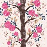 Δέντρο στο άνθος απεικόνιση αποθεμάτων