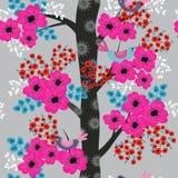 Δέντρο στο άνθος ελεύθερη απεικόνιση δικαιώματος