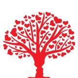 Δέντρο της αγάπης Στοκ εικόνα με δικαίωμα ελεύθερης χρήσης