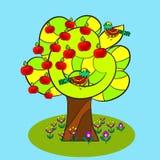 Δέντρο της Apple, φύση Στοκ Φωτογραφία