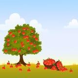 Δέντρο της Apple διανυσματική απεικόνιση