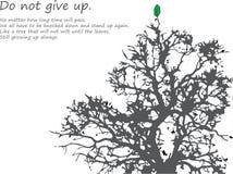 Δέντρο του πνεύματος Στοκ φωτογραφία με δικαίωμα ελεύθερης χρήσης
