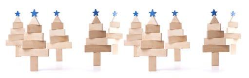 Δέντρο του FIR των ξύλινων φραγμών στοκ φωτογραφία με δικαίωμα ελεύθερης χρήσης