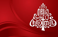 Δέντρο τυπογραφίας Χριστουγέννων στοκ εικόνα με δικαίωμα ελεύθερης χρήσης