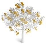 Δέντρο χρημάτων Στοκ Φωτογραφία
