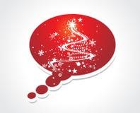 δέντρο Χριστουγέννων κλήσ& ελεύθερη απεικόνιση δικαιώματος