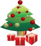 δέντρο χριστουγεννιάτικ&om Στοκ φωτογραφίες με δικαίωμα ελεύθερης χρήσης