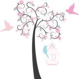 Δέντρο Birdcage Στοκ Φωτογραφίες