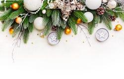 Δέντρο Branche του FIR Χριστουγέννων Στοκ Φωτογραφίες