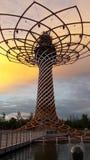 Δέντρο expà ² 2015 ζωής Στοκ Φωτογραφίες