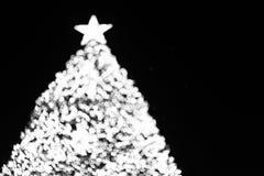 Δέντρο X'mas bokeh Στοκ Εικόνες
