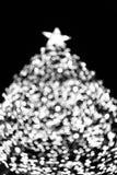 Δέντρο X'mas bokeh Στοκ εικόνες με δικαίωμα ελεύθερης χρήσης