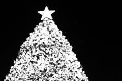 Δέντρο X'mas bokeh Στοκ φωτογραφία με δικαίωμα ελεύθερης χρήσης