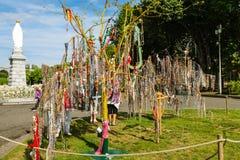 Δέντρο Rosaries Στοκ εικόνες με δικαίωμα ελεύθερης χρήσης