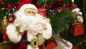 δέντρο santa Claus Χριστουγέννων φιλμ μικρού μήκους