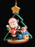 δέντρο santa Claus Στοκ φωτογραφία με δικαίωμα ελεύθερης χρήσης