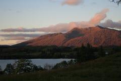 Δέος Lochawe, Σκωτία 2012 λιμνών Στοκ Εικόνες
