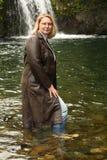 δέρμα σακακιών μακρύ Στοκ εικόνες με δικαίωμα ελεύθερης χρήσης